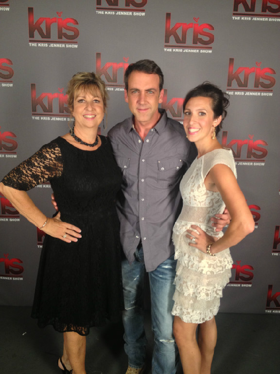 Pam Messina (Co-owner of DCS Chocolates) Carlos Ponce (Co-host and Telanovela Star) Tanya Quirk (Co-owner of DCS Chocolates)