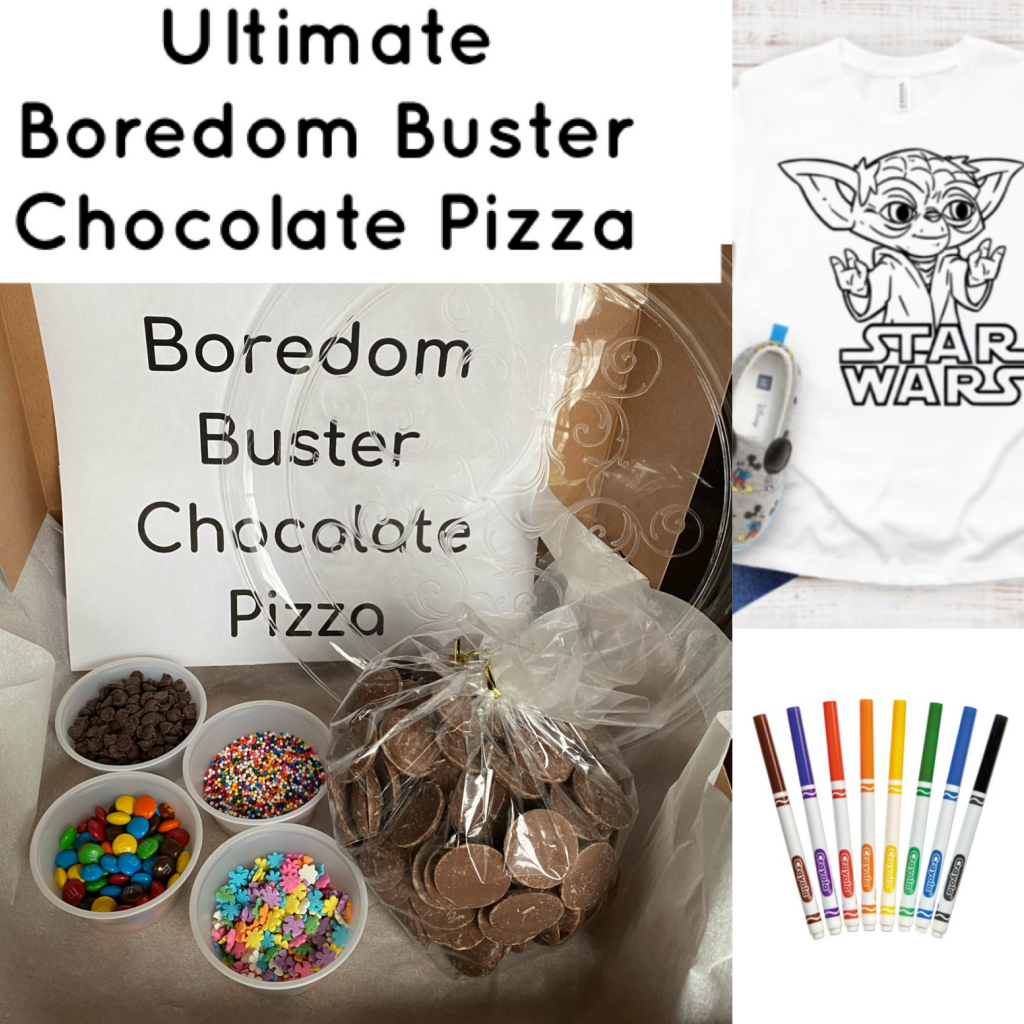 Ultimate Boredom Buster Chocolate Pizza