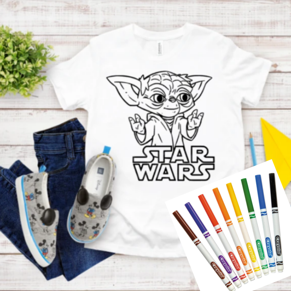 Boredom Buster Coloring T-Shirt