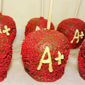 Caramel Apples to say thank you to your favorite teacer