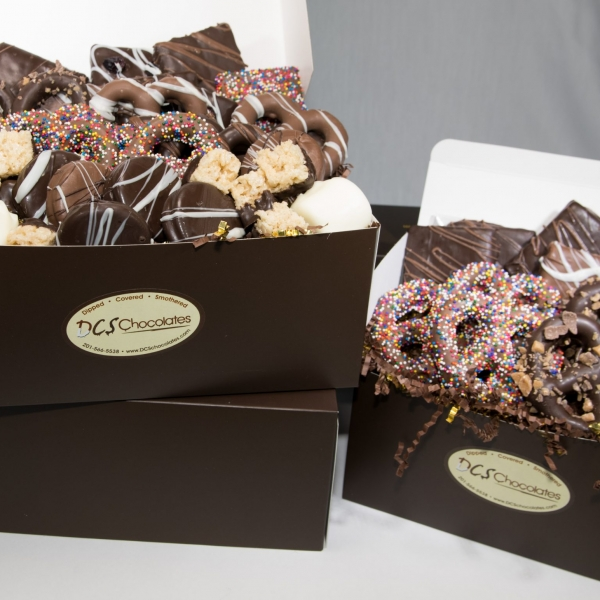 Dipped Smothered Covered Chocolate Boxes